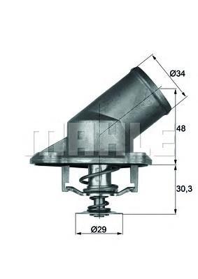 Термостат OP Astra, Corsa 1.2-1.4 00-