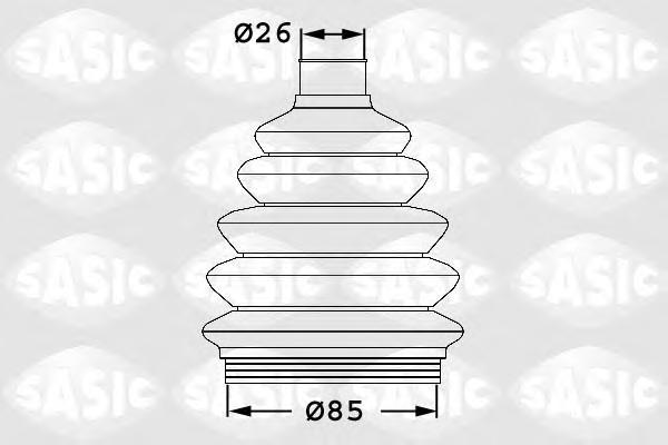 Пыльник ШРУСа внешний SKODA OCTAVIA (1U), VW PASSAT (3C) 1906038