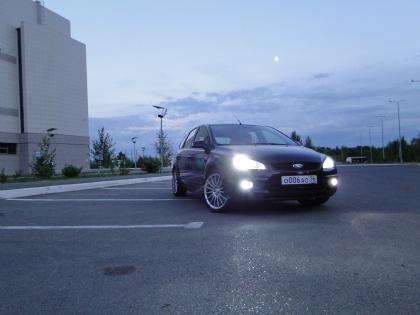 занижение подвески ford focus 2