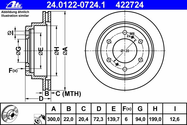 Диск тормозной задн, MITSUBISHI: PAJERO CLASSIC 3.2 DI-D/3.2 DiD 02-, PAJERO III 2.5 TDi/3.2 Di-D/3.5 00-07, PAJERO III Canvas Top 2.5 TDi/3.2 DI-D/3.5 V6 GDI/3.5