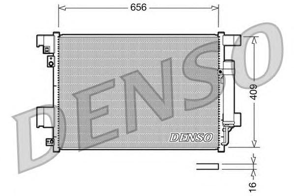 Радиатор кондиционера DCN21001