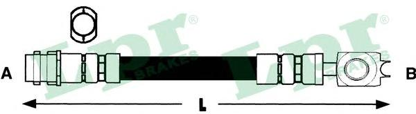Шланг тормозной 6T46734