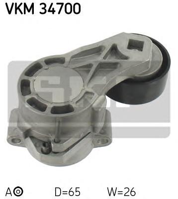 Ролик приводного ремня Ford Transit 2.2TDCI 16V 06