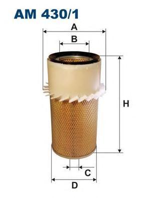 Фильтр воздушный AM430/1
