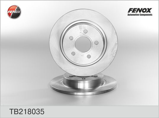 Диск тормозной FENOX TB218035 Ford Focus II 04-/Focus C-Max 03-07/ C-Max 07-/Volvo C30 06-/C70 06-/S40 04-/V50 04- 1223566