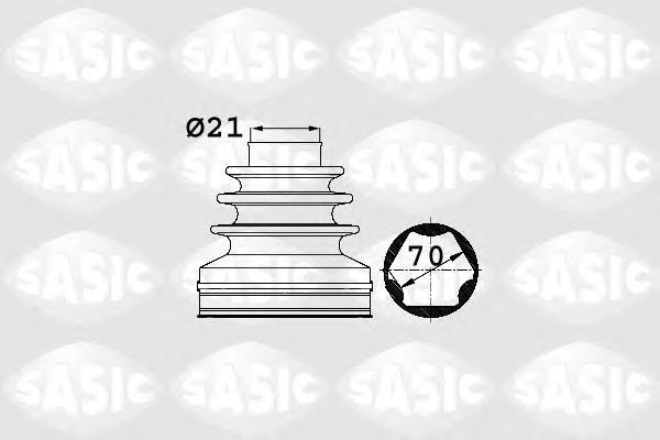 Пыльник ШРУС SASIC 1906025 AUDI Tdi со стороны коробки передач