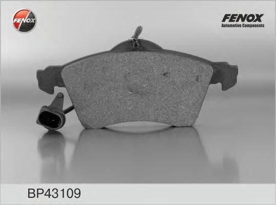 """Колодки тормозные FENOX bp43109 VW T4 15"""""""