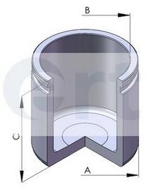 Поршень тормозного суппорта D57 H49.6 HONDA/NISSAN/TOYOTA 95- F