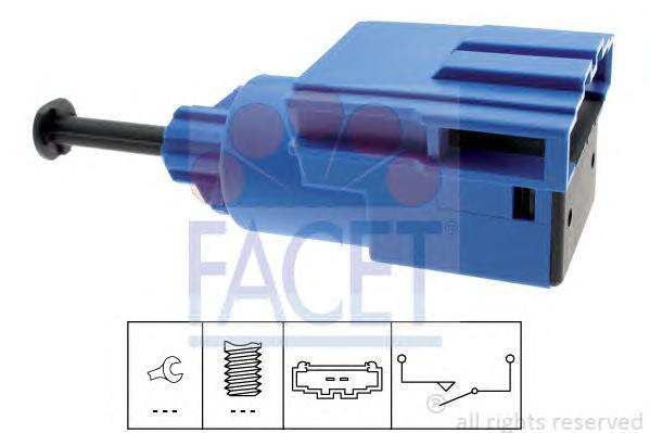 Датчик стоп-сигнала AUDI: A3 (8L1) 1.6/1.8/1.8 quattro/1.8 T/1.8 T quattro/1.9 TDI/1.9 TDI quattro/S3/S3 quattro 96-03, A4 (8D2, B5) 1.6 95-00, A4 (8E2, B6) 1.6/1.8