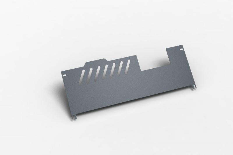 Защита радиатора лицевая AVIA D120 (2010-) (3мм) 3,9 дизель МКПП (крепеж штатный)
