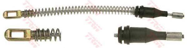 Трос ручника OPEL ASTRA G, H (для бараб тормоза) GCH2097