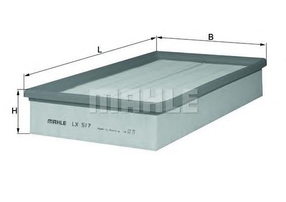 Фильтр воздушный MERCEDES W210 E200-E430 mot.104/111/112/602/604/605/606/611 95->