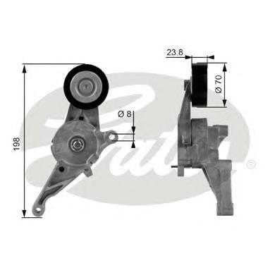 Ролик T38436 (7808-21336)