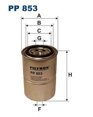 Фильтр топливный FILTRON PP853