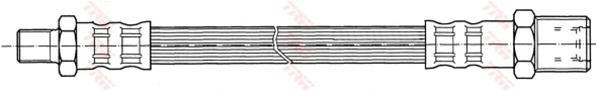 Шланг тормозной Ford Mn 96-00 TRW