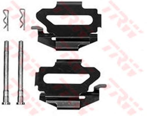 Комплект монтажный тормозных колодок PFK344
