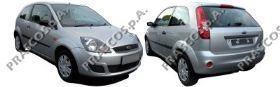 Стекло зеркала левое, без обогрева / FORD C-Max,Fiesta-V,Fusion,Focus-II,Mondeo-III 01~