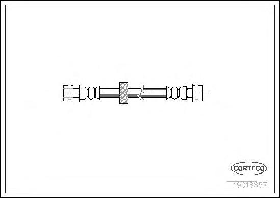 Шланг тормозной SEAT: CORDOBA 1.0 i/1.3/1.4/1.4 i/1.4 i 16V/1.6 i/1.7 SDI/1.8 i/1.8 i 16V/1.9 D/1.9 SDI/1.9 TD/1.9 TDI/2.0 i/2.0 i 16V 93-99, CORDOBA