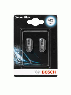 Лампа [2шт] XENON BLUE W5W 12V 55W [блистер] 1987301033