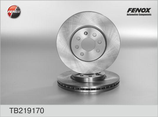 Диск тормозной передний Opel Astra H TB219170