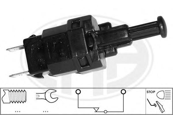 "Датчик вкл,""стоп""-сигнала Daewoo Nexia/Espero ->98 & Opel Astra/Kadett/Vento/Zafira/Fronterra 84-> (see OE) 330429"