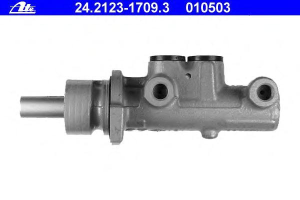 Цилиндр тормозной главный AUDI: A3 (8L1) 1.6/1.8/1.8 T/1.8 T quattro/1.9 TDI/1.9 TDI quattro/S3 quattro 96-03, TT (8N3) 1.8 T/1.8 T quattro 98-06, TT Roadster (8N9) 1.8 T/1.8