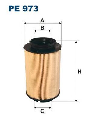 Фильтр топливный FILTRON PE973 AUDI,VW GOLF V 1.9TDI (1K0127434)