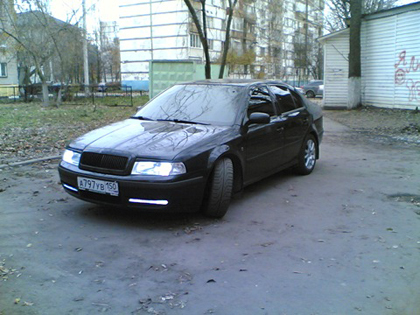 Eibach Pro-Kit на Skoda Octavia