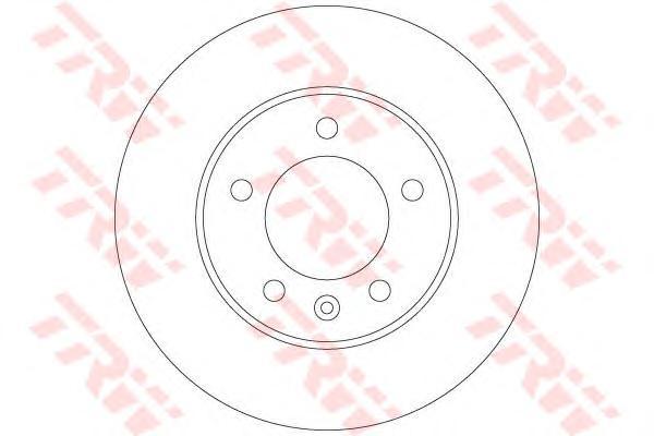 Диск тормозной задний RENAULT MASTER III, OPEL MOVANO B DF6120