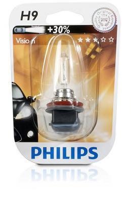 Лампа H9 12V 65W PGJ19-5 (1шт. в блистере)