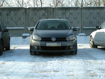 Eibach B12 Sportline на Volkswagen Golf VI
