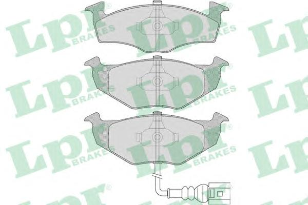 Колодки тормозные LPR 05P1120 =GDB1586