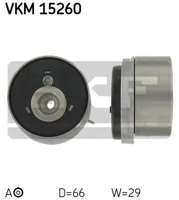 Ролик натяжной ремня ГРМ Opel 1.6/1.8 16V 00