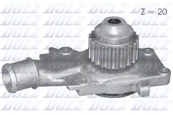 Помпа DOLZ F127 Ford Escort/Fiesta/Orion 1.3-1.6 86-95/AMULET