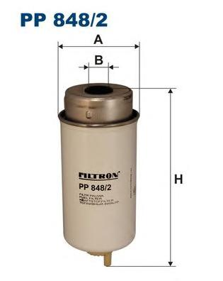 Фильтр топливный PP848/2