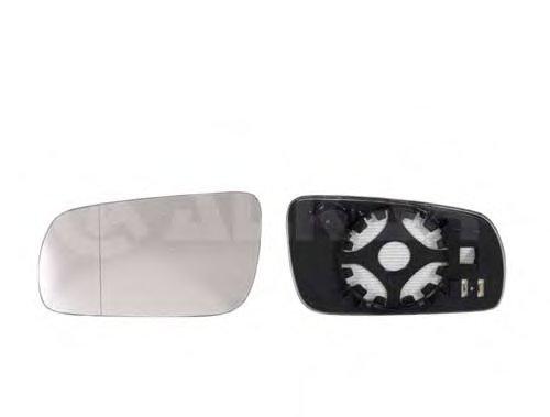 Стекло зеркала прав, электр, выпукл, с подогр, больш корп зеркала SKODA: OCTAVIA (1996-04), FABIA (1998-06)