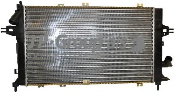 Радиатор охлаждения ДВС Opel Astra H 05-11