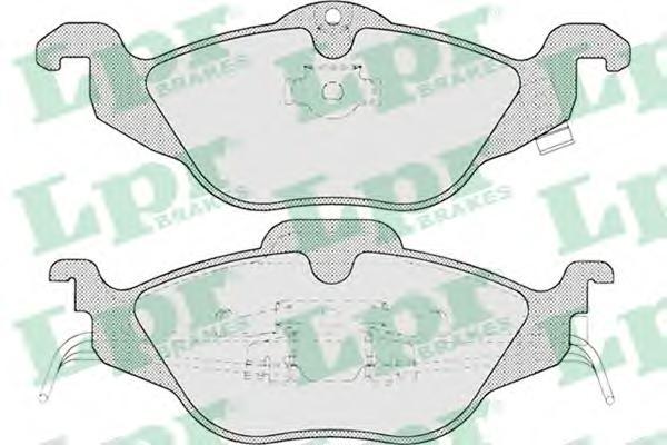 Комплект тормозных колодок 05P698