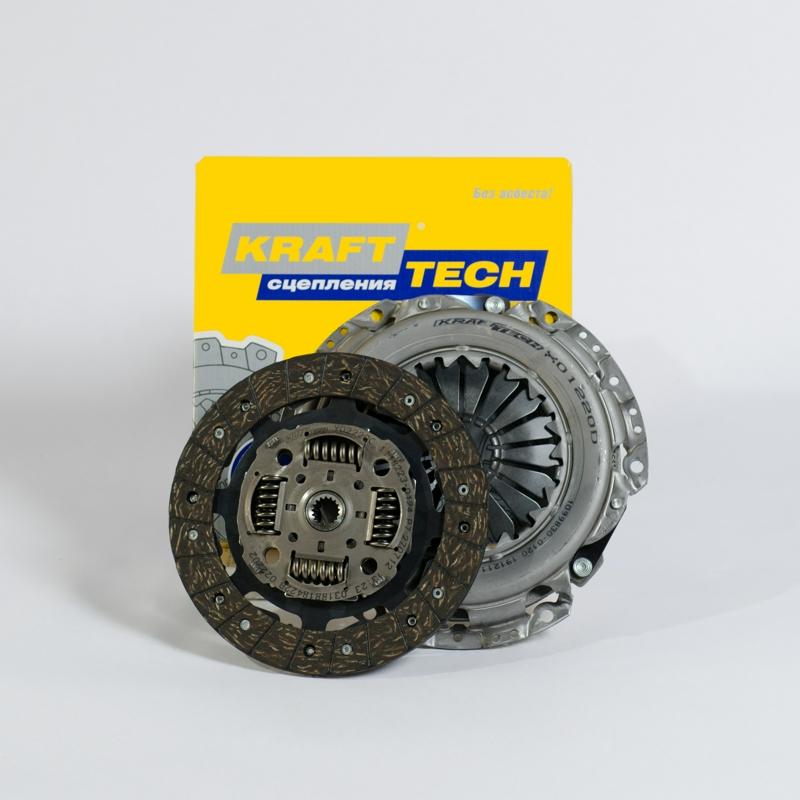 Комплект сцепления без выжимного Ford Focus II 1,4-1,6л 16V W01220B9