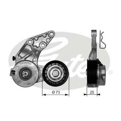 Натяжитель приводного ремня VW T5 03->