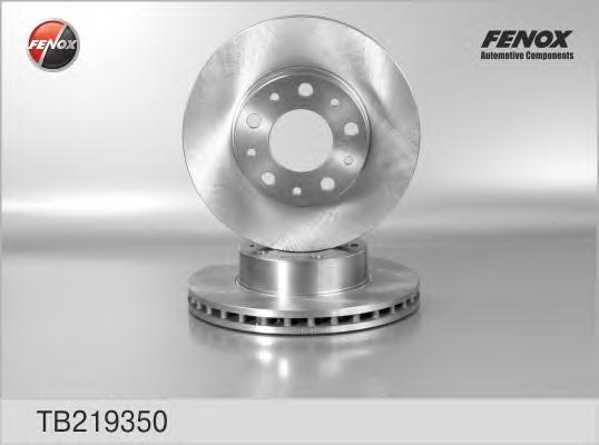 Диск тормозной передний Fiat Ducato Van 06- 1700 kg payload, - increased payload, TB219350
