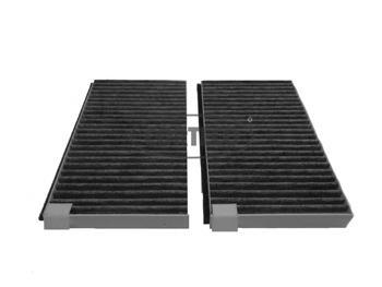 Комплект салонных фильтров, с активированным углем