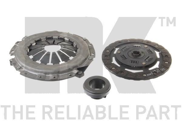 Комплект сцепления / OPEL Corsa-A/B 1,5/1,7 D,TD ( 200 mm ) 87~