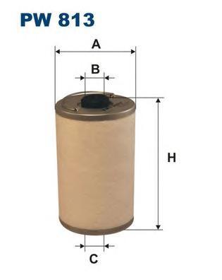 Фильтр топливный PW813
