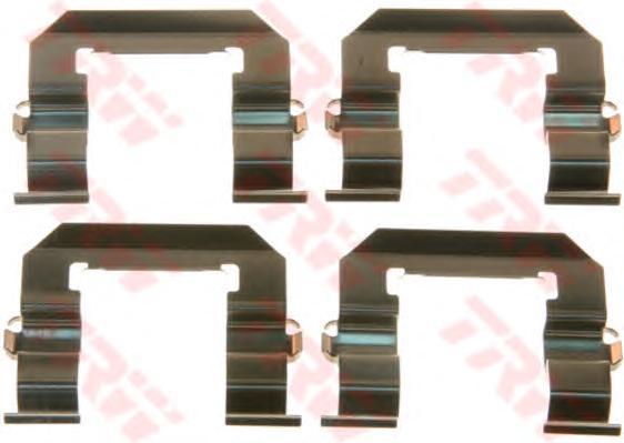 Пружинки тормозных колодок CHEVROLET: CAPTIVA 2.0 D/2.0 D 4WD/2.4/2.4 4WD/2.4 LPG/2.4 LPG 4WD/3.0 4WD/3.2 4WD 06- \ OPEL: ANTARA 2.0 CDTI/2.0 CDTI 4x4/2.4/2.4 4x4/2.4 LPG/2.4 LP