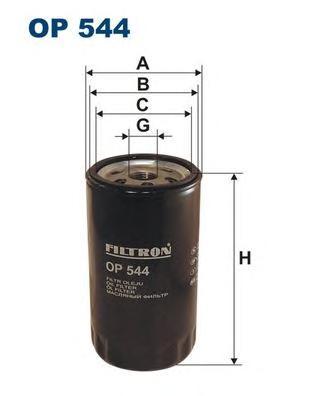 Фильтр масляный FILTRON OP544