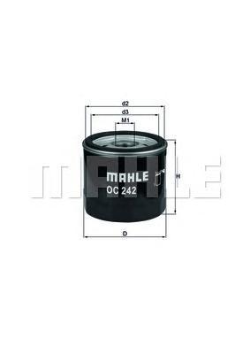 Фильтр масляный OPEL Astra F/G mot.X17DTL