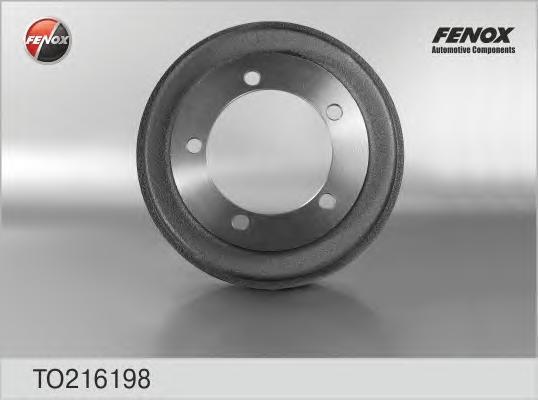 Барабан тормозной FORD Transit 00-06 FWD TO216198