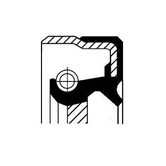 Сальник КПП VAG: DSG - муфта сцепления 40x56x8 ACM