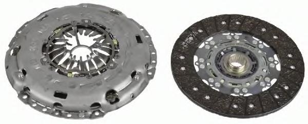 Комплект сцепления VW: MULTIVAN T5